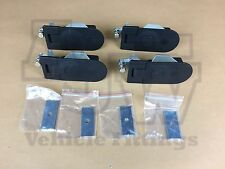 4 Compression Latch Lock LARGE NON LOCKING Horsebox Locker Doors Tack Box C5