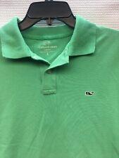 Vinyard Vines Mens Small Classic Fit Green Polo