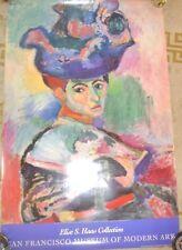 VINTAGE POSTER SAN FRANCISCO MUSEUM OF MODERN ART HENRI MATISSE FEMME AU CHAPEAU