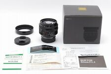 【TOP MINT in BOX】Voigtlander Nokton 50mm F1.1 VM Lens for Leica w/Hood Japan#666