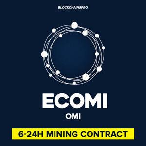 300 ECOMI (300 OMI) New DeFi Crypto - Crypto mining Contrat, crypto monnaie