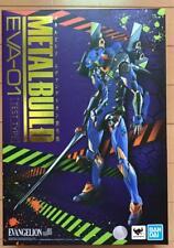METAL BUILD Evangelion EVA-01 Test Type EVA Figure BANDAI Anime Goods