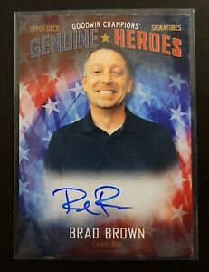 2020 Goodwin Champions Brad Brown Genuine Heroes Auto