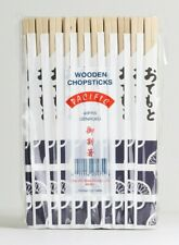 80 PAIRS CHOPSTICKS WOODEN BAMBOO FOR ALL ASIAN FOOD JAPANESE