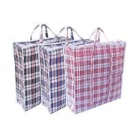 REUSABLE LAUNDRY STORAGE BAG SHOPPING BAGS ZIPPED STRONG JUMBO SIZE LAUNDRY BAG