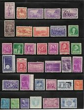 Collection Of Pre War United States Stamps Unused #1