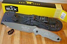 NIB BUCK KNIVES 065 RON HOOD PUNK KNIFE 5160 CARBON STEEL BLADE DISCONTINUED USA