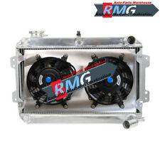Aluminum Radiator For 1979-1985 Mazda RX7 RX-7 S1 S2 S3 80 81 82 83 84 +Shroud