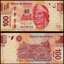 México 100 UNC Pesos (P124f) 2012