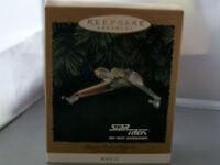 Star Trek Keepsake Ornament 1994 Klingon Bird of prey