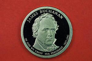 2010-S GEM  Proof (James Buchanan) Deep Cameo US Presidential One Dollar Coin
