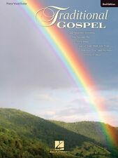 Traditional Gospel 2nd Edition Sheet Music Piano Vocal Guitar SongBook 000361361