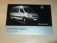 20463) Mercedes Sprinter Mobility Prospekt 2008
