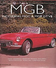 MG MGB INCLUDING MGC MGB GT & V8 DAVID KNOWLES PROTOTYPES WORKS CARS HISTORY 1ST