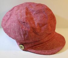 DC Shoe CO Red Womens  Unstructured Hat Cap One Size Fits Most