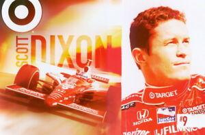 2006 Scott Dixon Target Honda Dallara Indy Car postcard