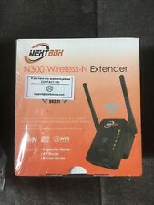 NEXTBOX WiFi Range Extender N300 Wireless Signal Booster & Repeater NEW Sealed
