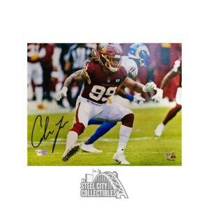 Chase Young Autographed Washington Football Team 8x10 Photo - Fanatics