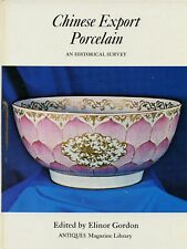 Antique Chinese Export Porcelain China -History Types Makers / Scarce Book Sftbk