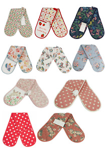 Cath Kidston Double Oven Gloves with a Selection of Various Pattern New with Tag