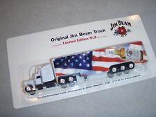 Werbe LKW - Original Jim Beam Whiskey Truck Limited Edition No. 2 - neu / OVP