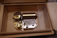 Walzenspieluhr Spieluhr Melodie I.Paderewski Menuet Spieldose Reuge