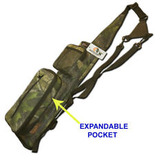 ARCHERY BACK  ARROW QUIVER EXPANDABLE ZIPPER POCKET HL# FAQ-20220CAMO