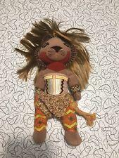"Disney Lion King Simba Stuffed Plush Doll The Broadway Musical Toy 12"" Tribal"