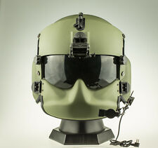 EVI HGU-56/P Rotary Wing Aircrew Helmet Dummy (OD) w/ ANVIS 9 Mount Battery Box