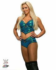 "CHARLOTTE FLAIR WWE PHOTO OFFICIAL STUDIO WRESTLING 8x10"" PROMO"