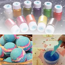 14 Colors Bath Bomb Pearl Slime Coloring Mica Powder Soap Dye Makeup Pigment Set