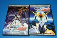 Rare Mobile Suit Zeta Gundam Complete Collection Volume 1 & 2 10 Discs DVD Set