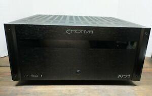 Emotiva XPA Two GEN3 Modular Power Amplifier 3-300W Per Channel Original Box