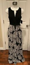 "Eva Franco Black & White ""Knightley"" Dress, Size 6, NWT"