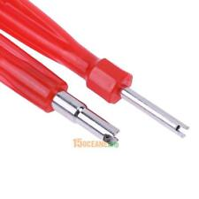 Tyre Valve Core Removal Tool With Dual End Hvac Installation Remover Changer New