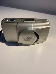 Olympus Infinity Stylus Zoom 115 DLX 35mm Film Point Shoot Camera Vintage TESTED
