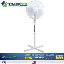 Pedestal Fan 40cm 3 Speed Lectro® PRO Oscillating Portable Large Cooling Cooler