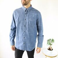 Lucky Brand Saturday Stretch Denim Shirt - Men's Size L - NWT