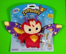 Ganz Webkinz Zumbuddy 1st Edition Zed A Zippy Zum Plush Bean Bag Toy New