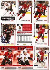 2011-12 Panini Score Ottawa Senators Complete Team Set (22)