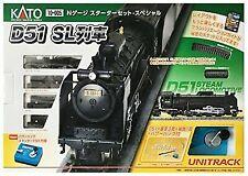 KATO N Gauge Starter Set Special D51 SL Train 10-005 Model Railroad Introduc F/s