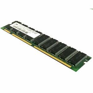 Micron MT18LSDT3272AY-133G3 256MB PC133 168 pin SDRAM CL3 ECC DIMM Memory Ram