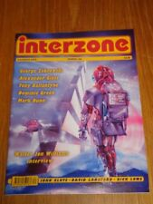 INTERZONE #162 DECEMBER 2000 ALEXANDER GLASS TONY BALLANTYNE UK MAGAZINE =