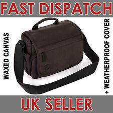 Tamrac 2.2 Apache Shoulder Bag for Camera Lenses - Waxed Canvas - Brown