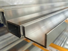 Aluminium U Channel Profile  Various Sizes 2000mm length
