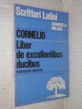 LIBER DE EXCELLENTIBUS DUCIBUS Exterarum gentium Cornelio Nipote Ottolini 1968