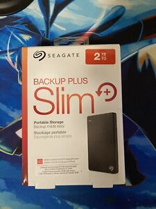 Seagate Backup Plus Slim 2 TB Portable Storage HDD
