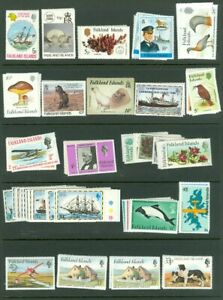 EDW1949SELL : FALKLANDS Beautiful, ALL VF MNH collect ALL DIFF CPLT set Cat $376