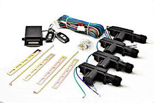 Zentralverriegelung ZV mit Funkfernbedienung Sender Funk 4-türig Komplett für