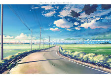 SKY LONGING FOR MEMORIES: THE ART OF MAKOTO SHINKAI ANIME ARTBOOK NEW
